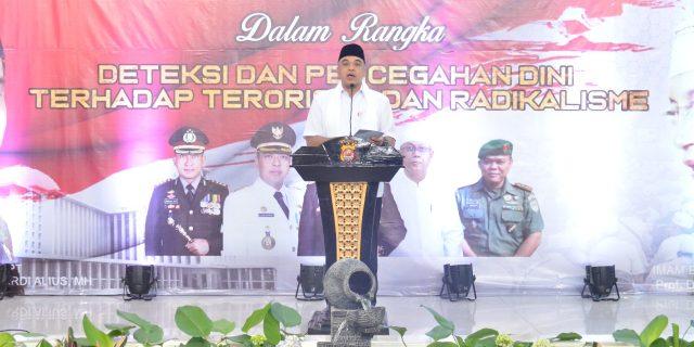 Wakapolda Banten, Hadiri Deklarasi Tokoh Agama se-Tangerang, Tolak Radikalisme dan Terorisme
