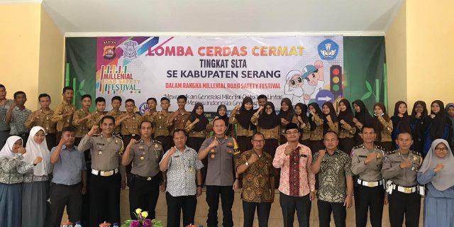 Polres Serang Gelar Lomba LCC Tingkat SLTA se-Kabupaten Serang
