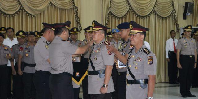 Kapolda Banten Irjen Pol Tomsi Tohir Pimpin Upacara Serah Terima Jabatan Dirreskrimsus