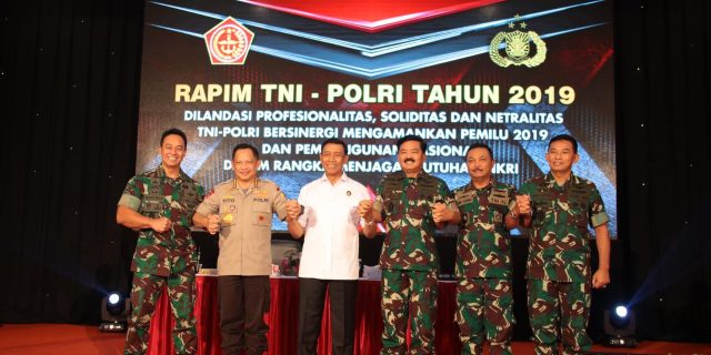 Kapolda Banten Hadiri Kegiatan Rapim TNI/POLRI 2019 di Mabes Polri