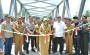 Jembatan Penghubung Dua Kecamatan di Tanggamus Diresmikan