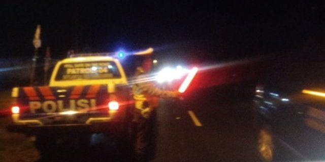 Antisipasi Kecelakaan dan Kejahatan, Sat Lantas Gelar Patroli Malam hari