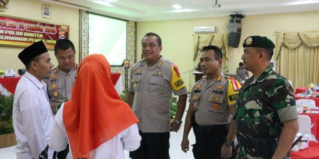Jelang Perayaan Imlek, Polda Banten Siagakan 798 Personel Pengamanan