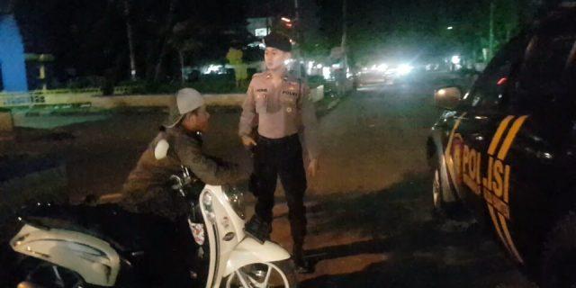 Beri Rasa Aman Pada Masyarakat Dit Samapta Polda Banten Rutin Patroli Malam