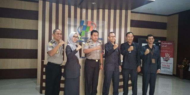 Penguatan Dalam Penyajian Data, Polda Banten Kunjungi BPS Banten
