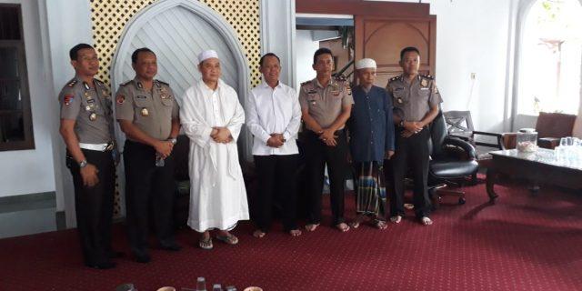 Karo Log Polda Banten silaturahmi Ke Tokoh Agama Kabupaten Tangerang