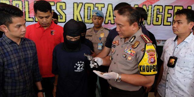Polresta Tangerang, Bekuk Komplotan Perampok Bersenjata Api