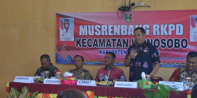 Wakil Bupati Tanggamus Buka Musrenbang RKPD