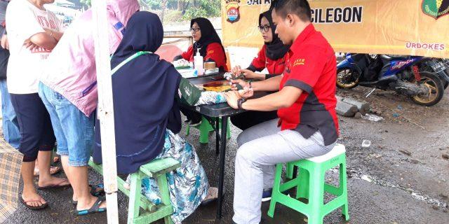 Dokkes Polda Banten Laksanakan Kegiatan Bakti Kesehatan di CFD