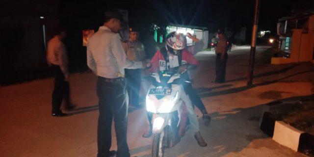 Polsek Pamarayan, Laksanakan Giat Operasi Cipta Kondusif