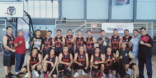 Basket Polda Banten Raih 4 Besar di Turnamen Basket All Age Eksekutif Tangerang
