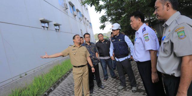 Panel Listrik Terbakar RSUD Kota Tangerang Sementara Berhenti Beroperasi