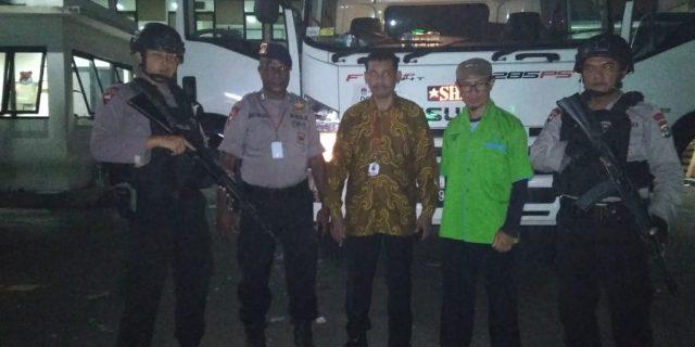 Satbrimob Polda Banten, Kawal Logistik Pemilu 2019
