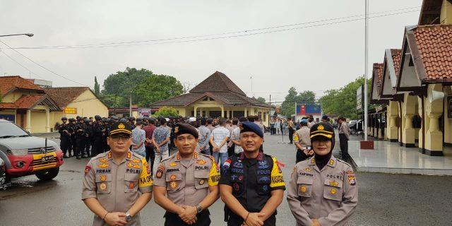 Karo Ops Polda Banten Pimpin Pengamanan Kampanye Pemilu