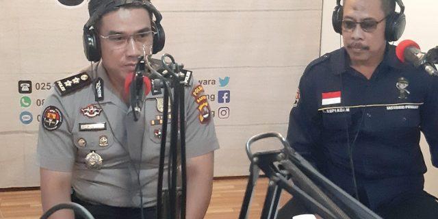 Melalui Talkshow, Polda Banten Sosialisasi Penerimaan Polri 2019