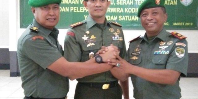 Mayor Arh Bambang EP Resmi Jabat Danramil 01/Tgr