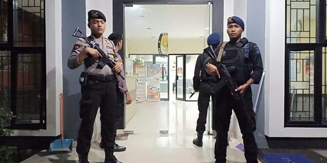 Menjelang Pemilu Polda Tingkatkan Pengamanan KPU Banten