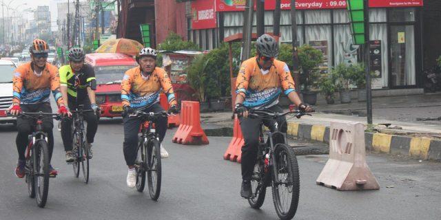Polres Cilegon Ramaikan Millenial Road Safety Festival
