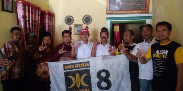Caleg PKS Dapil 1 Kabupaten Tanggamus Lakukan Koordinasi