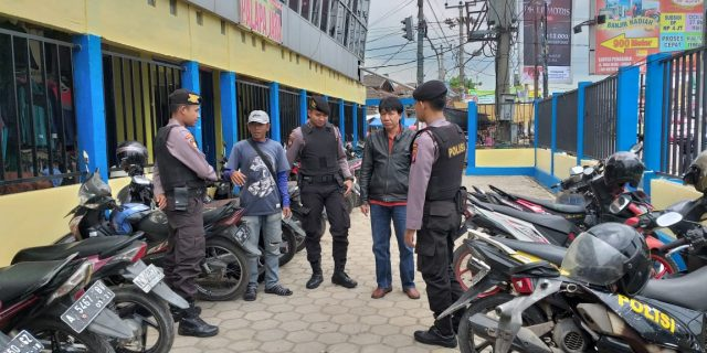 Cegah Aksi Premanisme, Ditsamapta Polda Banten Rutin patroli