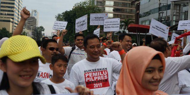 ASN Jaga Netralitas pada Pemilu 2019 Jaga Birokrasi Mandiri