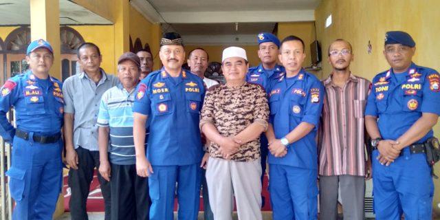 Tingkatkan Silaturahami, Wadirpolairud Polda Banten Sambangi Tokoh Masyarakat Nelayan Pangaradan