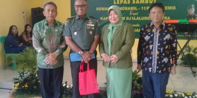 Kapten Kav Sjahrul Asari Resmi Jabat Danramil 11 Pasarkemis