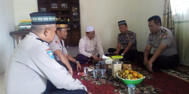 Karo Logistik Polda Banten Sambangi Tokoh Ormas BPPKB Cikupa