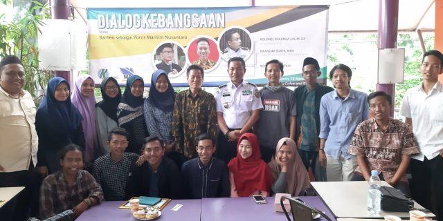 Kolonel Bakamla Salim ajak Generasi Milenial di Banten untuk memahami Jatidiri Bangsa Maritim