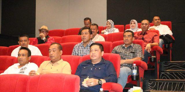 Nonton Bareng Film Insipiratif Kaum Millenial Bersama Kapolda Banten