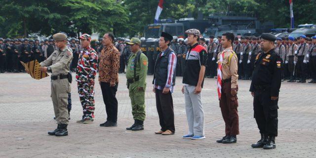 Ciptakan Pemilu 2019 Aman Dan Damai Polda Banten Libatkan Potmas