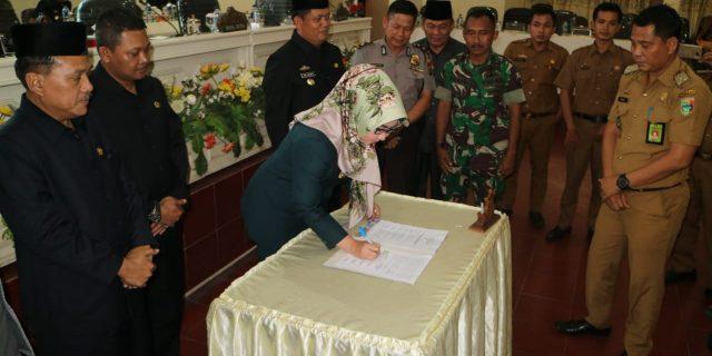 DPRD Gelar Rapat Paripurna Persetujuan RJPMD Kabupaten Tanggamus Tahun 2018-2023