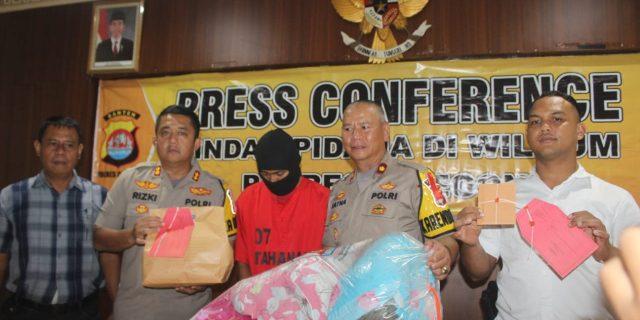 Polres Cilegon Ungkap Motif Pelaku Pembunuhan Istri dan Anak