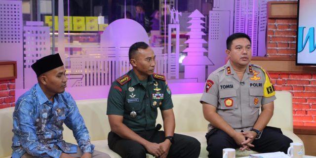 Pesan Kapolda Banten Lewat Siaran Langsung Ajak Masyarakat Sukseskan Pemilu 2019
