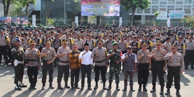 Demi Keamanan dan Kelancaran Pemilu 2019 TNI-POLRI PAM TPS