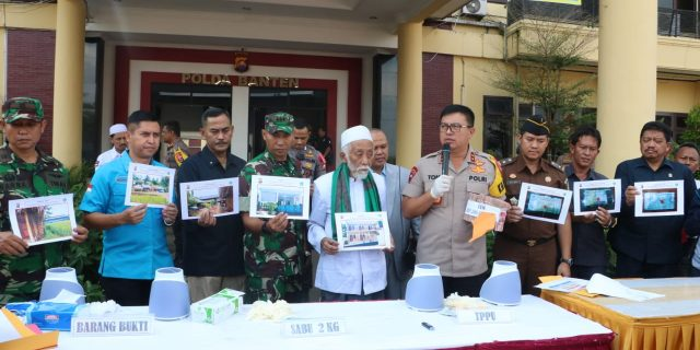 Polda Banten Ungkap Kasus Pencucian Uang dari Hasil Kejahatan Narkotika