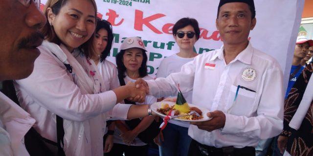 Relawan Jokowi-Ma'ruf Amin Sambut Kemenangan Dengan Syukuran
