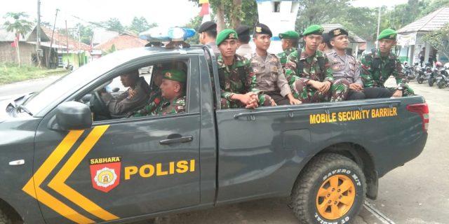 Polda Banten Gelar Patroli Gabungan TNI dan POLRI