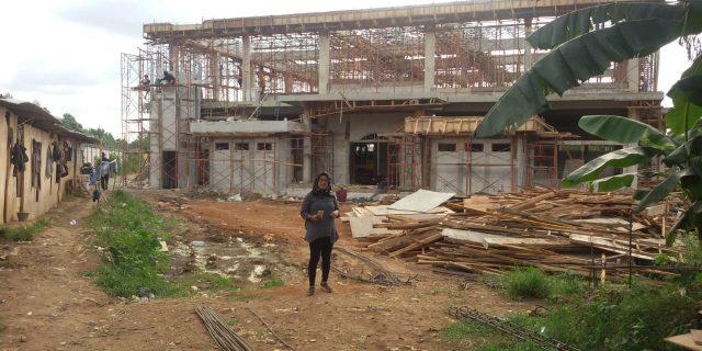 Proyek Rumah Ibadah Poltekip Tangerang Amburadul
