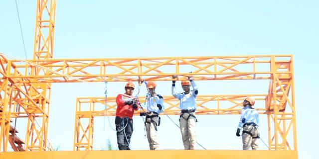 Basarnas Latih Vertical Rescue Pada ASN Kementerian Perhubungan