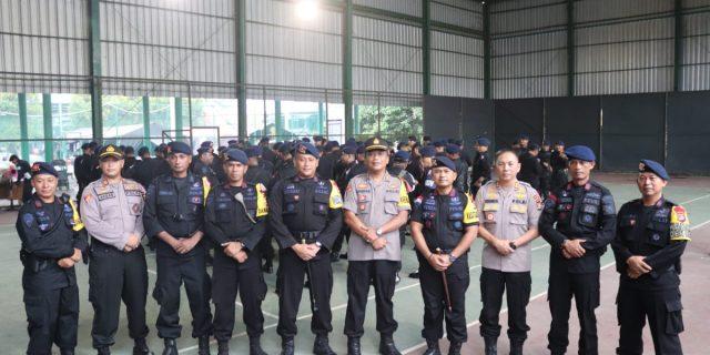 Brimob Polda Banten Kawal dan jaga ketat gudang logistik pemilu 2019