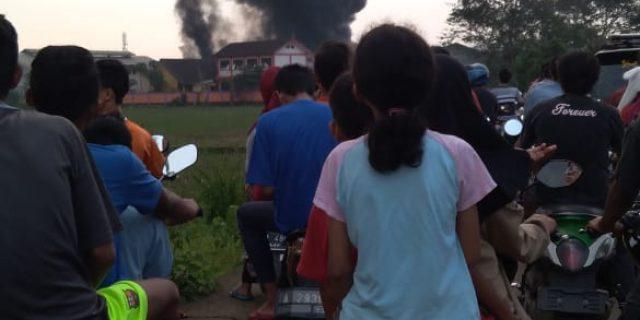 Kebakaran Di PT Panca Agung Memakan Korban Jiwa