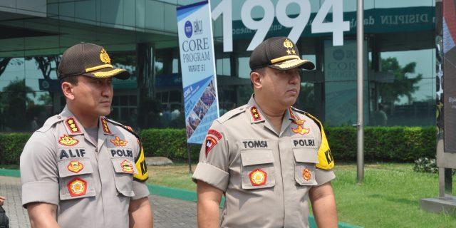 Dikunjungi Presiden, Jajaran Polda Banten Perketat Jalur Menuju Lokasi Kunjungan