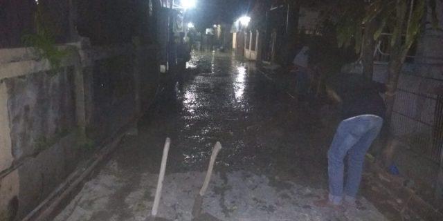 Proyek Pengecoran Jalan Di Kp Pasir Desa Sentul Di Duga Asal Jadi