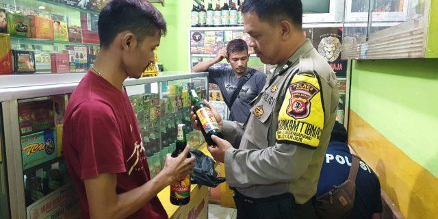 Polres Cianjur dan Anggota Polsek Cianjur Kota Laksanakan Ops Pekat