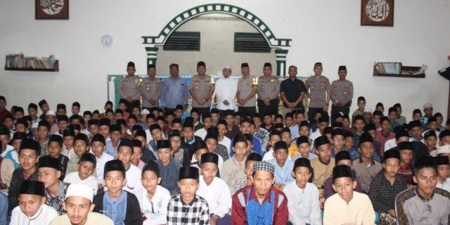 Kapolres Cilegon  Buka Puasa Bersama Para Santri Pondok Pesantren  Al – Fath