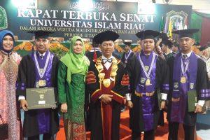 Kabid Humas Polda Banten Raih Gelar Magister Hukum
