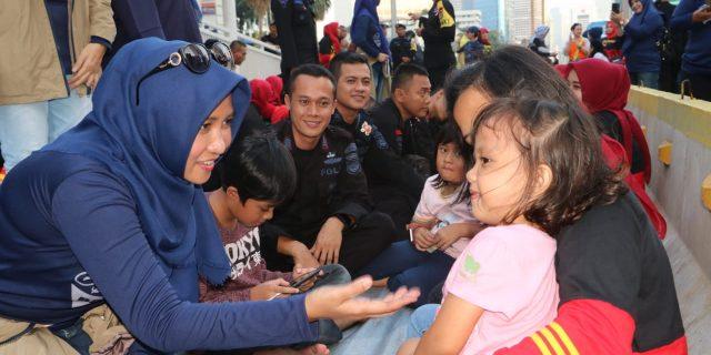 Obati Rindu, Keluarga Personil Brimob Banten diboyong ke Jakarta.