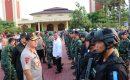 Personil Gabungan Polda Banten Siaga Keamanan Arus Mudik Di Provinsi Banten