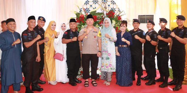Kapolda Banten Laksanakan Shalat Idul Fitri 1440 H dan Open House Bersama Anggota